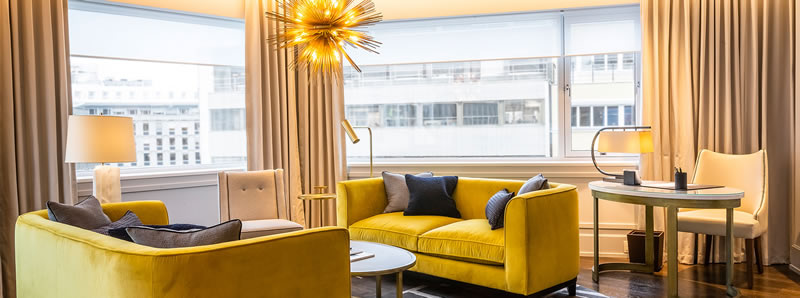 Hotel Continental in Oslo, Norway, Abel Suite